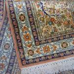 tapis de soie